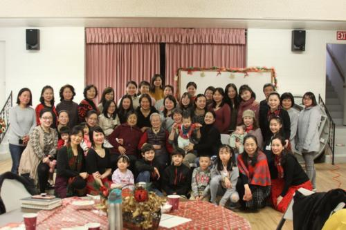 Sisters' New Year Potluck 2019